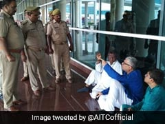 """We Have Been Detained"": Derek O'Brien Posts Video From Varanasi Airport"