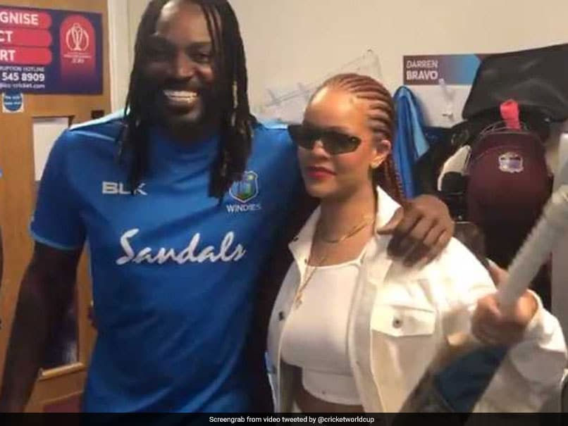 Pop Queen Rihanna Was Seen In The Windies Dressing Room