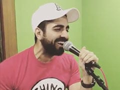 Seen Ayushmann Khurrana's Video Of Singing <i>Kabir Singh</i> Song <i>Bekhayali</I> Yet?