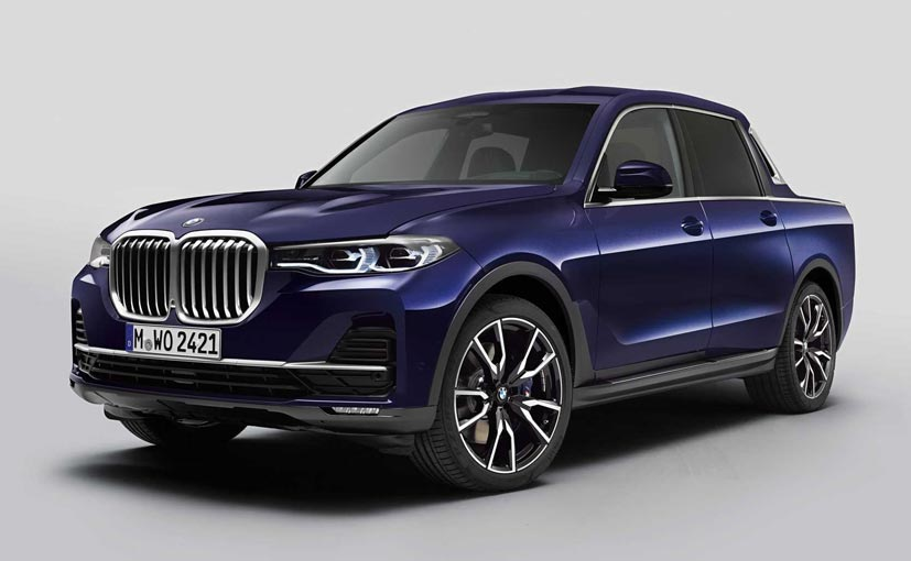 The BMW X7 pick-up is a one-off model and will never go into production
