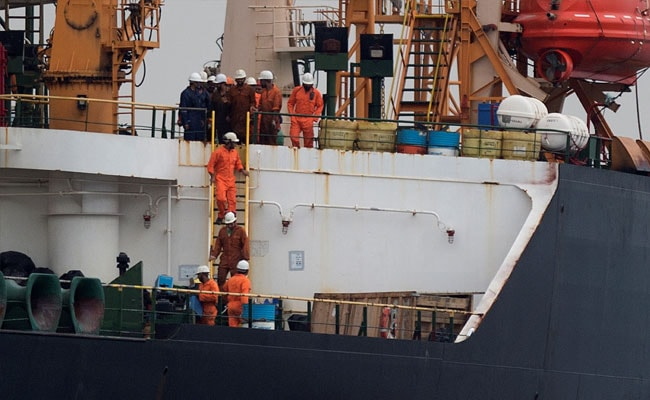4 Indian Crew Of Seized Iran Oil Tanker Freed On Bail Without Charge