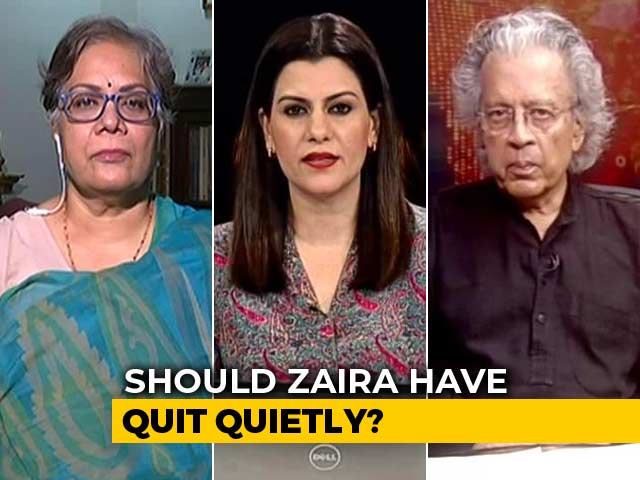Video : Zaira Wasim Quits Bollywood: Is It About Choice?