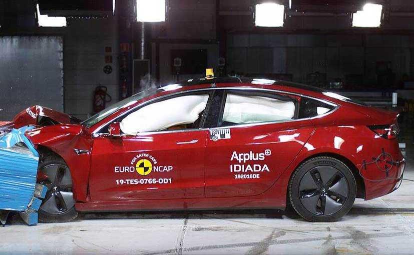 The Tesla Model 3 has the highest rating in pedestrian protection in the 2019 line-up of cars tested