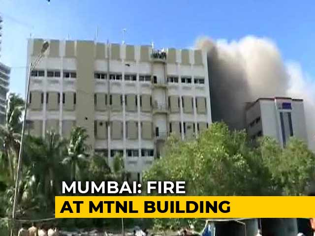 Video : Over 90 Rescued By Fire Officials From Mumbai's MTNL Building