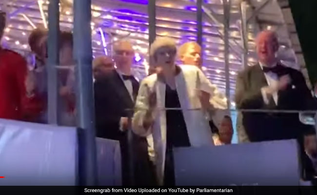Video: Theresa May Dances To Abba's 'Dancing Queen' On Final Days As PM
