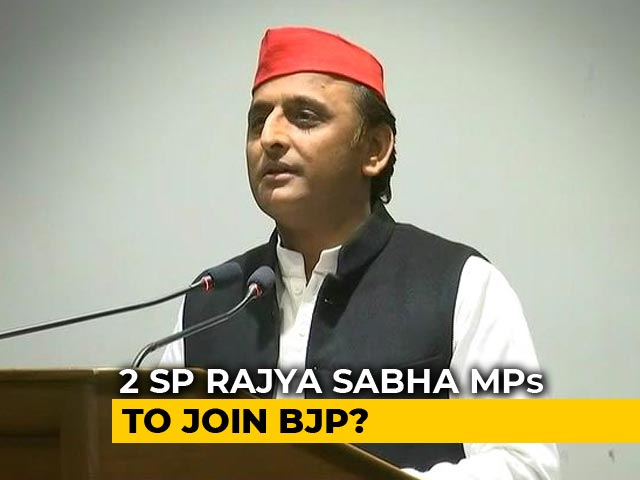 Video : 1 Down, 2 More To Go? Akhilesh Yadav's Loss Is BJP's Gain In Rajya Sabha