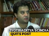 Video : Jyotiraditya Scindia, Milind Deora Quit In Congress Turmoil