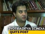 Video : Jyotiraditya Scindia, Milind Deora Quit In Congress Turmoil
