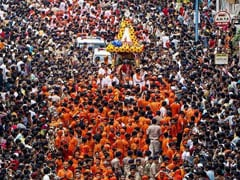 Devotees Celebrate Jagannath Rath Yatra In Odisha
