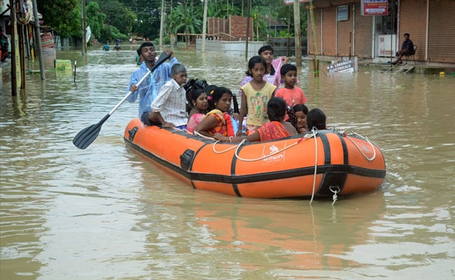 Floods Affect 15,000 In Tripura, Mizoram, Train Services Hit