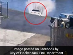 Video: Driver Hits Accelerator Instead Of Brakes, Plunges Into River