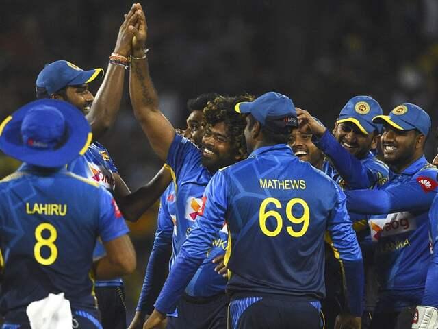 Rohit Sharma congratulates Lasith Malinga on ODI retirement