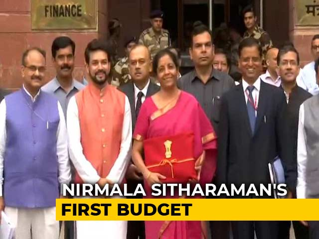 Video : Nirmala Sitharaman To Present Her First Budget Today, Here's What To Expect