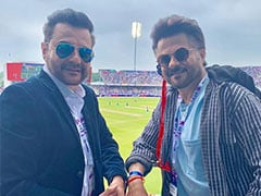 World Cup 2019: Anil Kapoor Is 'Bleeding Blue' At India Vs New Zealand Semi-Final In Manchester