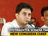 "Video : ""7 Weeks Have Passed..."": Jyotiraditya Scindia On New Congress Chief"