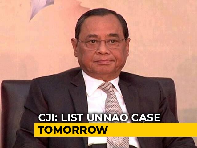Video : Unnao Rape Survivor's Letter To Chief Justice To Be Taken Up Tomorrow