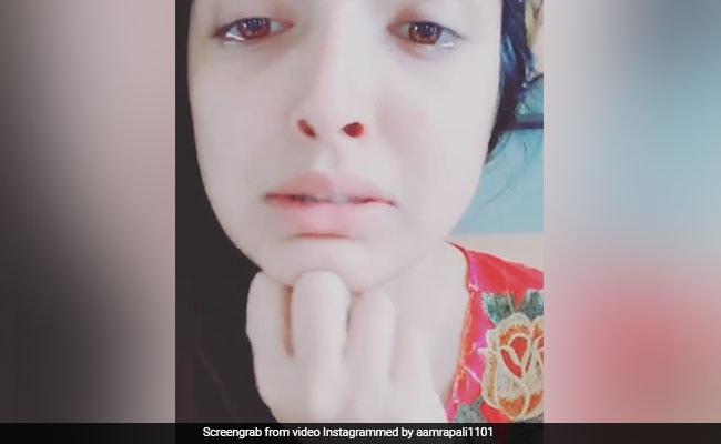 Bhojpuri Cinema: आम्रपाली दुबे के वीडियो ने मचाया हंगामा, बोलीं- मेरे नाना ने सारे रिश्ते तोड़ लिए हैं...