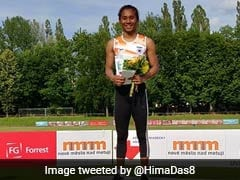 Hima Das Wins Gold In 400m Race, Fifth In A Month