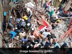 2 Dead As 100-Year-Old Building Collapses In Mumbai, 40 Feared Trapped