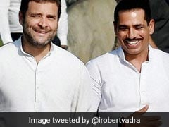 """""""Much To Learn From You"""": Robert Vadra Praises Rahul Gandhi On Facebook"""