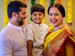 It's A Girl: Sameera Reddy Welcomes 'Little Angel' With An Adorable Post