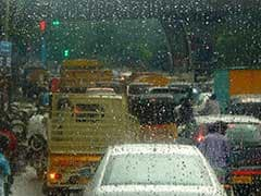 Heavy Rain Hits Mumbai, Causes Traffic Jam, Water-Logging