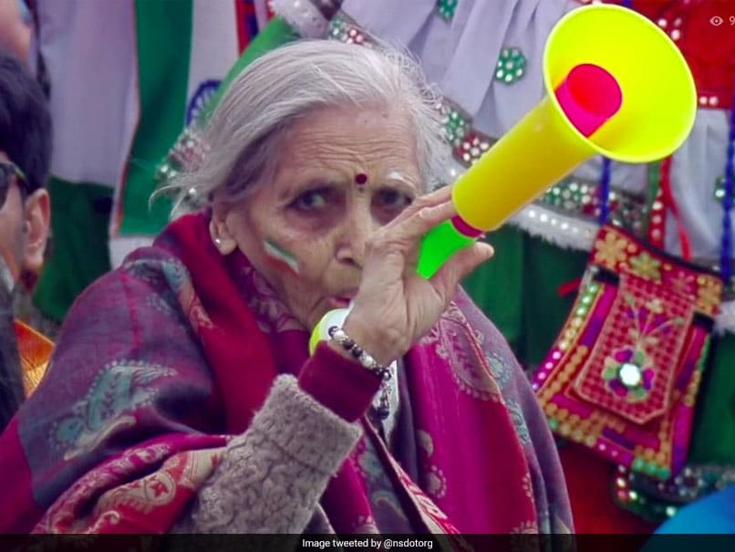 India vs Bangladesh: Elderly Indian Fan Steals The Show In World Cup Clash