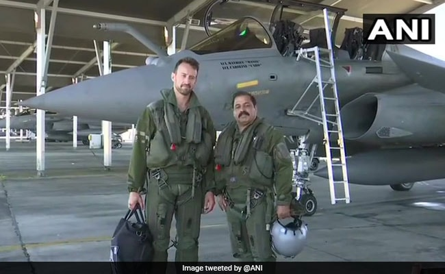 Air Force Vice Chief Flies Rafale, Warns Of 'Potent' Pairing With Sukhoi