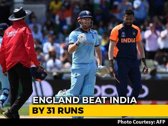 Video : World Cup 2019: England Beat India By 31 Runs