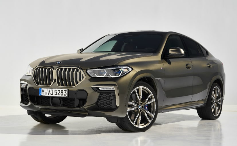 2020 Bmw X6 Revealed Global Launch In November 2019 Ndtv Carandbike