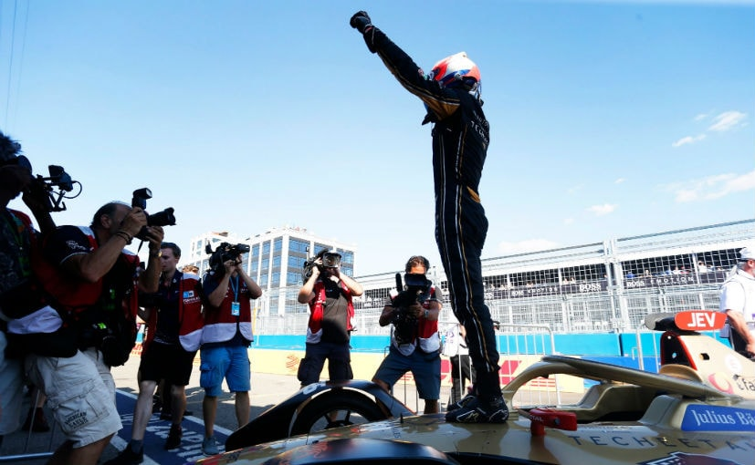 Jules Eric Vergne finished the NYC e-Prix in 7th place, but already had the lead in the points table