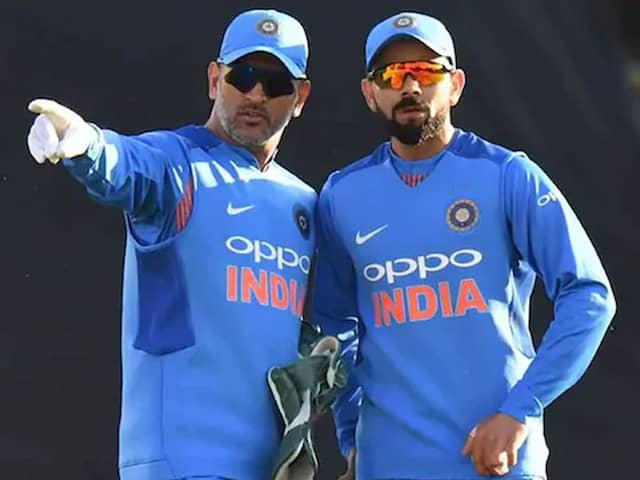 """Virat Kohli Says MS Dhoni """"Played A Big Role"""" In Him Becoming Captain"""