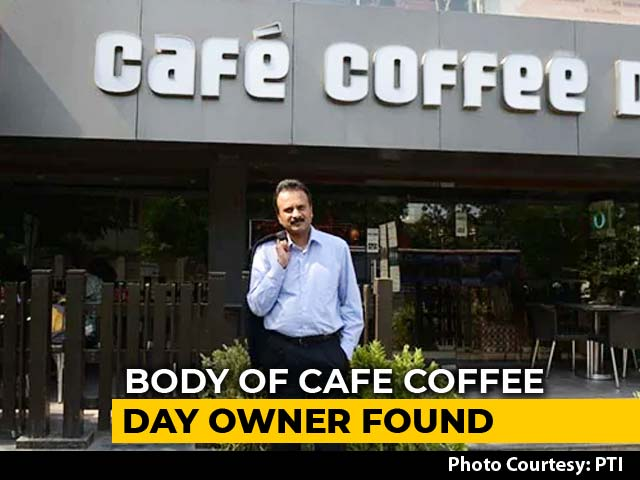 Video : Cafe Coffee Day Founder's Body Found 2 Days After He Went Missing