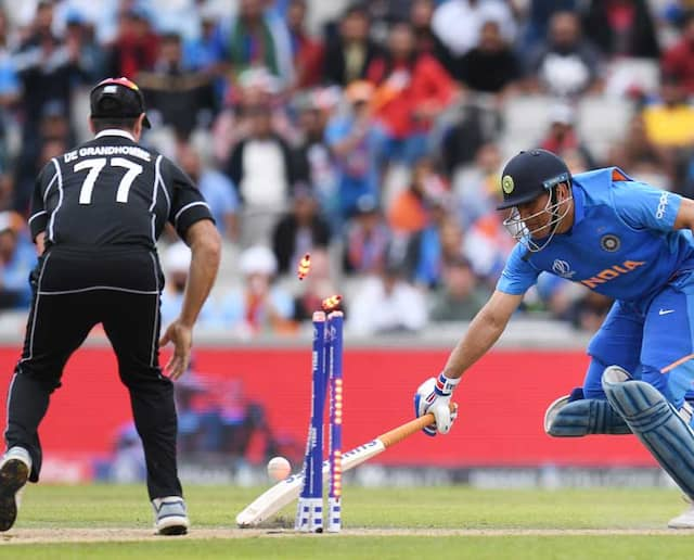 MS Dhonis Run Out Gave New Zealand Confidence In Semi-Final, Says Ross Taylor