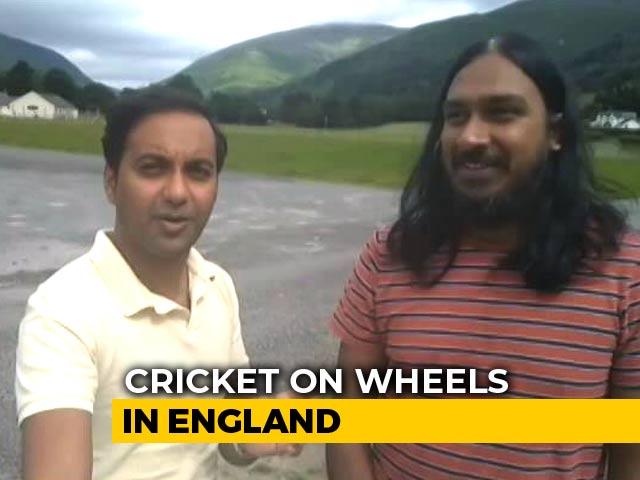 Video : Cricket Caravan Reaches Leeds