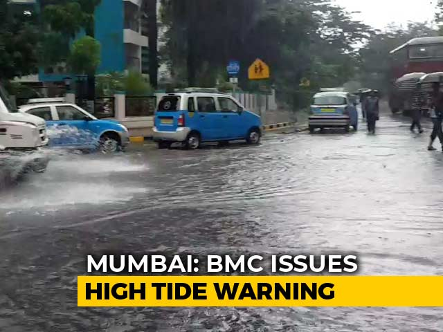 Video : Heavy Rain Continue To Hit Mumbai, High Tide Likely