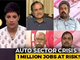 Video : Auto Sector Crisis: 1 Million Jobs At Risk?