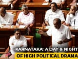"Video : ""Lost Majority"": Governor Deadline To Karnataka Coalition For Trust Vote Today"