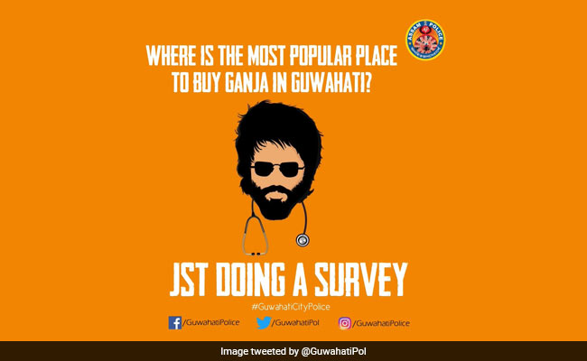 'Which Is Most Popular Place To Buy Ganja,' Tweets Guwahati Police