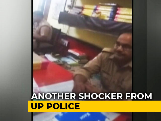 "Video : ""Shows What You Are..."": UP Cop Harasses Teen Who Tried To File Complaint"