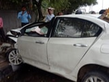 Video : 2 Killed As Honda City Smashes Into Pole In Delhi, Cops Suspect Speeding