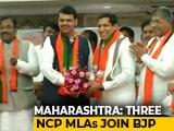 Video : Day After Resignations, 4 Maharashtra Opposition Legislators Join BJP