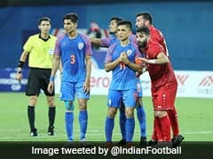 Syria Hold India To 1-1 Draw In Intercontinental Cup