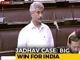 """Video : """"Kulbhushan Jadhav's Family Has Shown Exemplary Courage"""": S Jaishankar"""