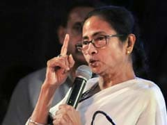 """If We React In Kind..."" Mamata Banerjee Attacks BJP At Trinamool Rally"