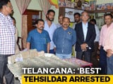 Video: 93 Lakhs Cash, Jewellery Found At Home Of Telangana Officer Who Won Award