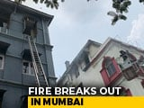 Video : 1 Dead In Fire At 4-Storey Building Near Taj Mahal Palace In South Mumbai