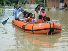 Floods Affect 15,000 In Tripura, Mizoram, Train Services Hit