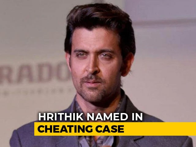 Hrithik Roshan Named In Cheating Case In Hyderabad
