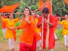 पवन सिंह से आम्रपाली दुबे ने की शिकायत 'शिव मानत नहीं', Video हुआ वायरल